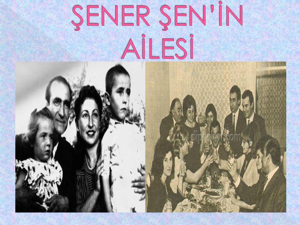  26 Aralık 1941 tarihinde, o zamanlar marangozluk yapan ünlü oyuncu Ali Ş en'in o ğ lu olarak Adana'da dünyaya gelir. Sanat hayatına İ stanbul Beledi
