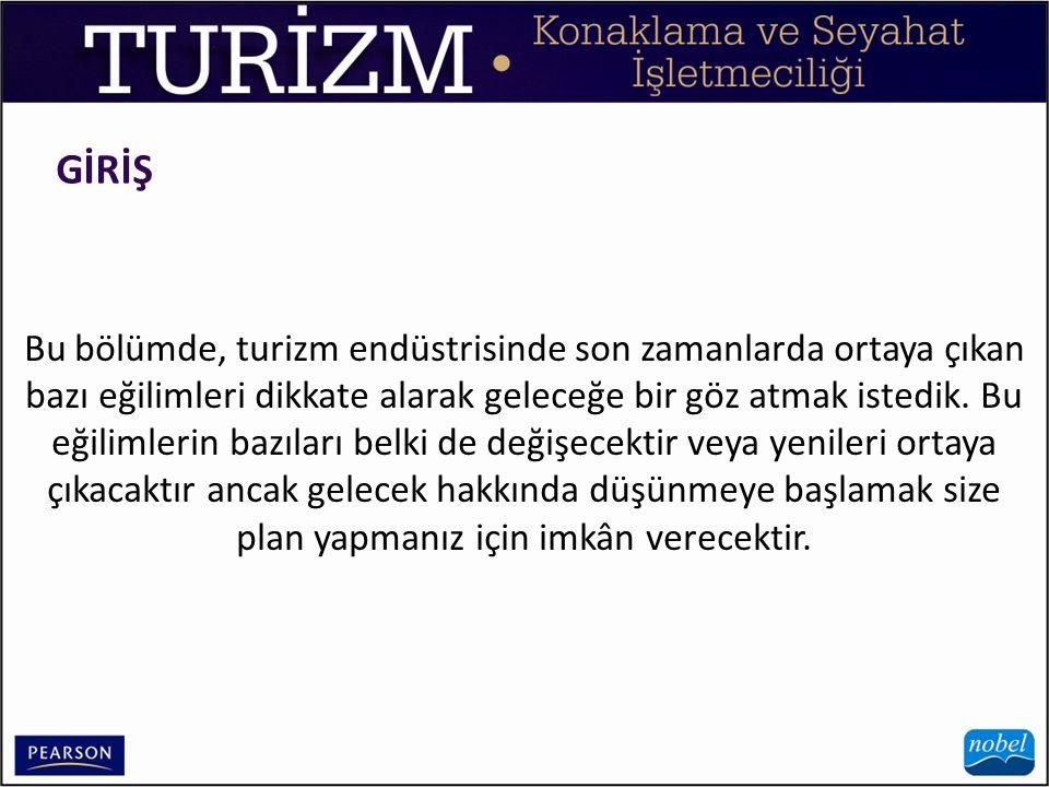 GELECEKTEKİ TURİZM PİYASALARININ ŞEKLİ 2.