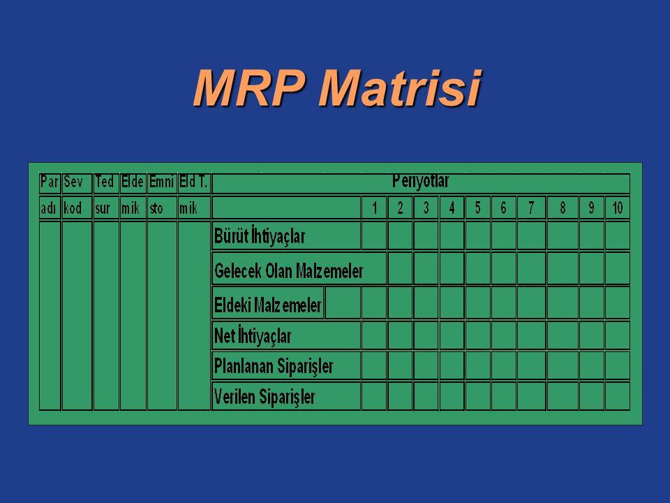 MRP Matrisi