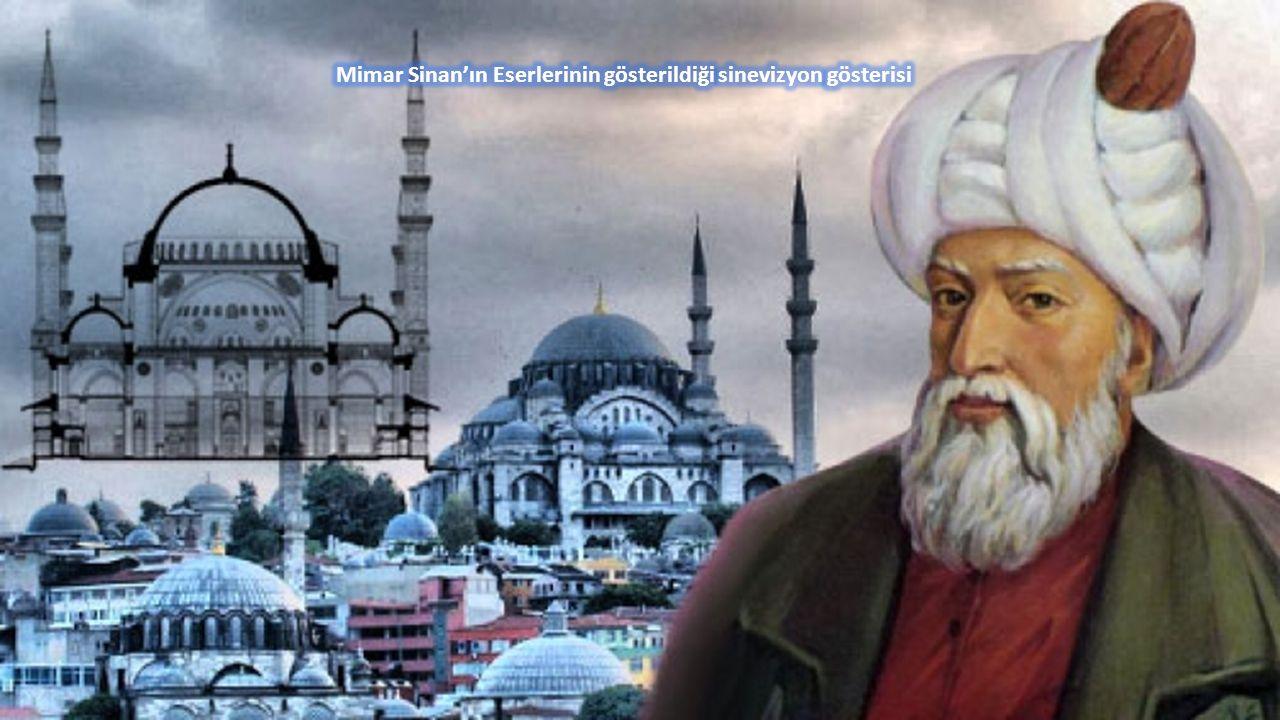  Açılış Konuşması  Mimar Sinan'ın eserlerinin gösterildiği sinevizyon gösterisi  «Süleymaniye'yi Düşünüyorum» adlı metnin okunması  «Sen Mimar Sin