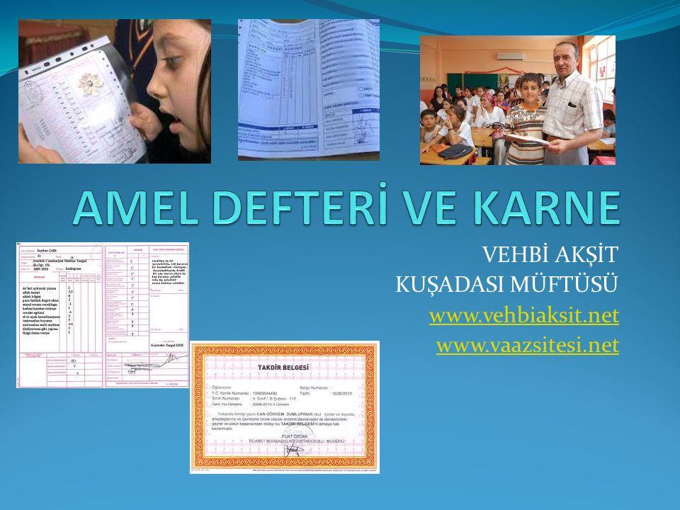 VEHBİ AKŞİT KUŞADASI MÜFTÜSÜ www.vehbiaksit.net www.vaazsitesi.net