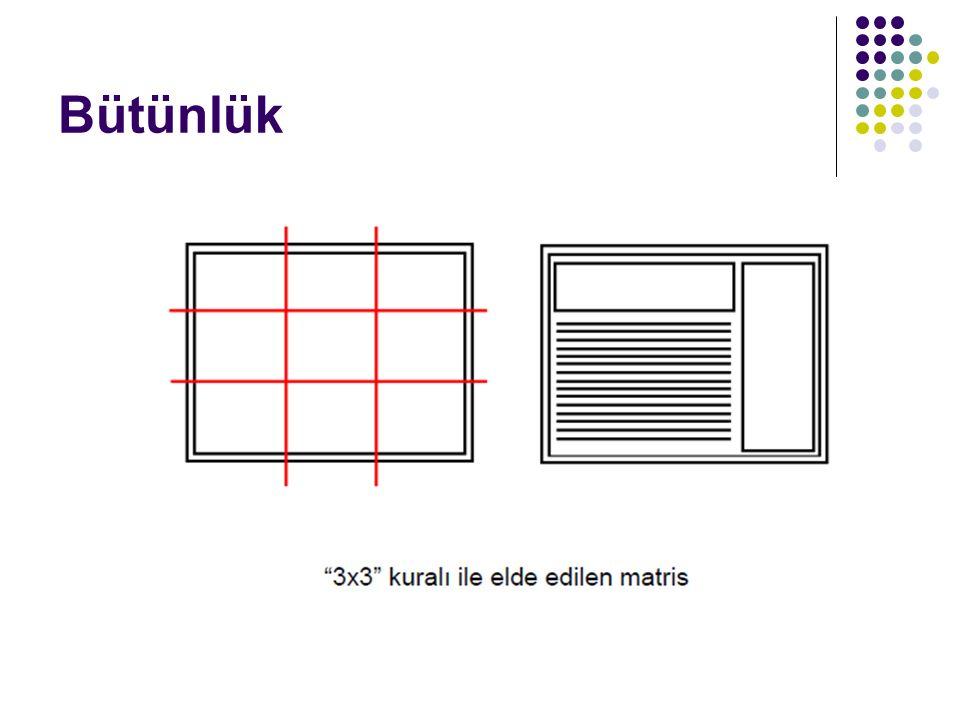 Metin Kullanımı Sürekli büyük harf ya da yazı tipi efektleri (altı çizili, italik vb.) kullanılması okunabilirliği azaltacaktır.