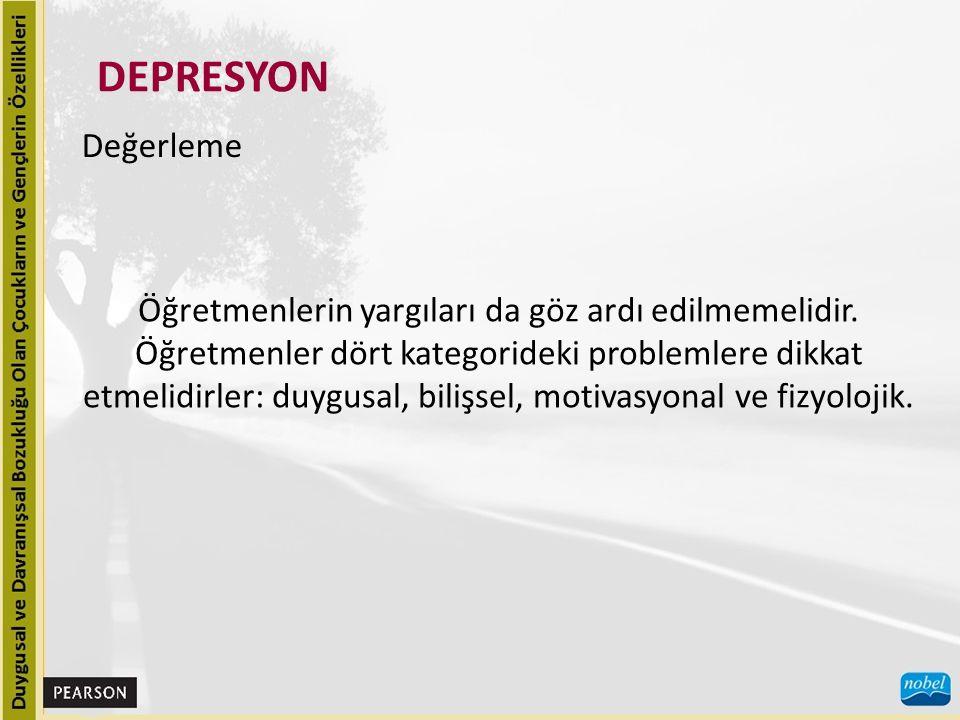 DEPRESYON Nedensel Etmenler, Diğer Bozukluklarla İlişkisi ve Önleme Depresyondaki bazı olgular açıkça bilinmeyen biyolojik etmenlerin sonucudur, ancak çoğu olguda nedensel etmenler belirlenemez.