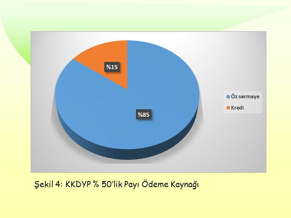 Şekil 4: KKDYP % 50'lik Payı Ödeme Kaynağı