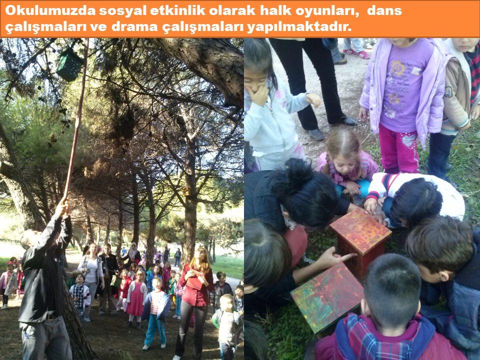 Okulumuzda sosyal etkinlik olarak halk oyunları, dans çalışmaları ve drama çalışmaları yapılmaktadır.