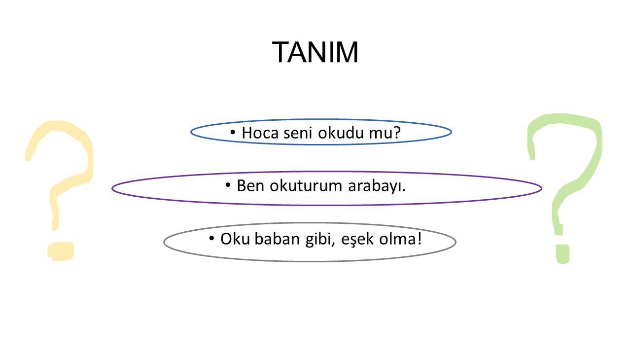TANIM Yazıya geçirilmiş bir metne bakarak bunu sessizce çözümleyip anlamak veya aynı zamanda seslere çevirmek (TDK, 1998).