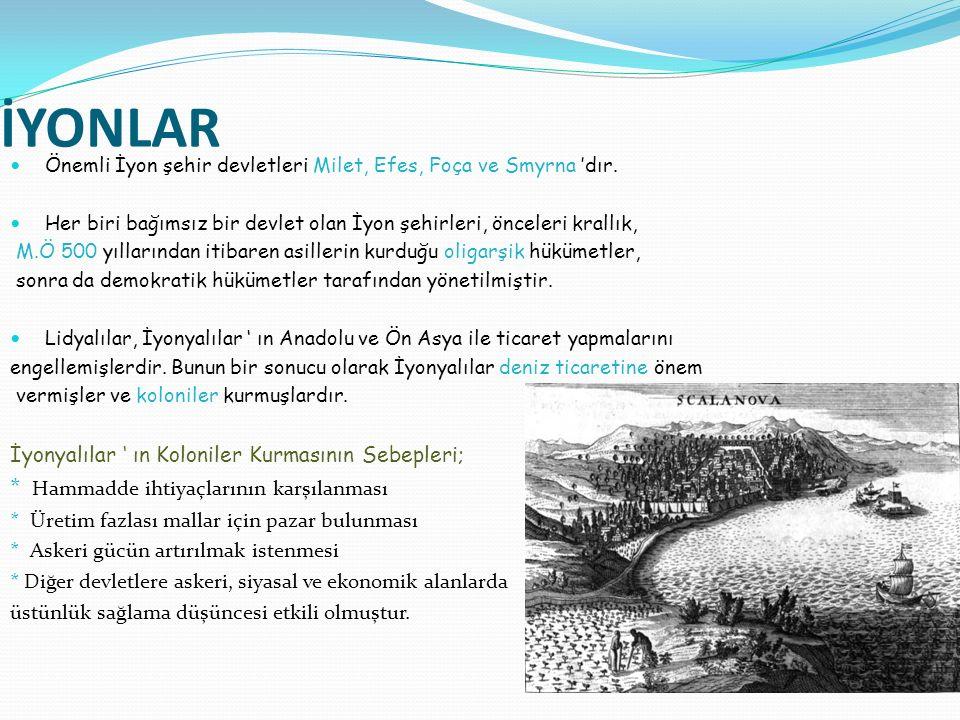Anadolu'da bilimsel faaliyetler İyonya'da en yüksek noktasına ulaşmıştır.