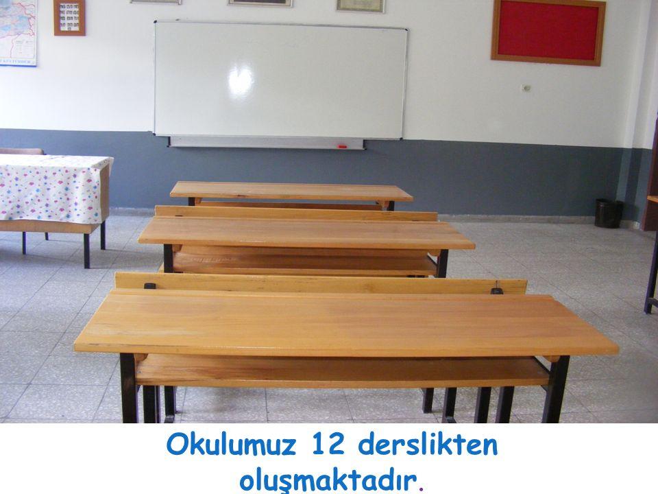 Okulumuz 12 derslikten oluşmaktadır.