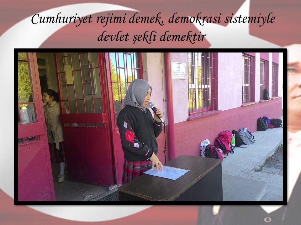 Türkiye Cumhuriyeti mesut, muvaffak ve muzaffer olacaktır.