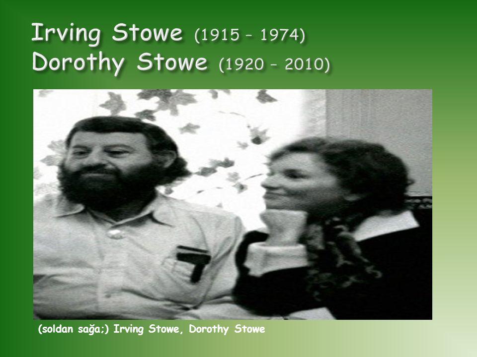 (soldan sağa;) Irving Stowe, Dorothy Stowe