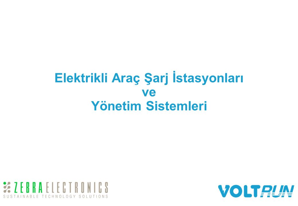 Elektrikli Araç Şarj İstasyonları ve Yönetim Sistemleri