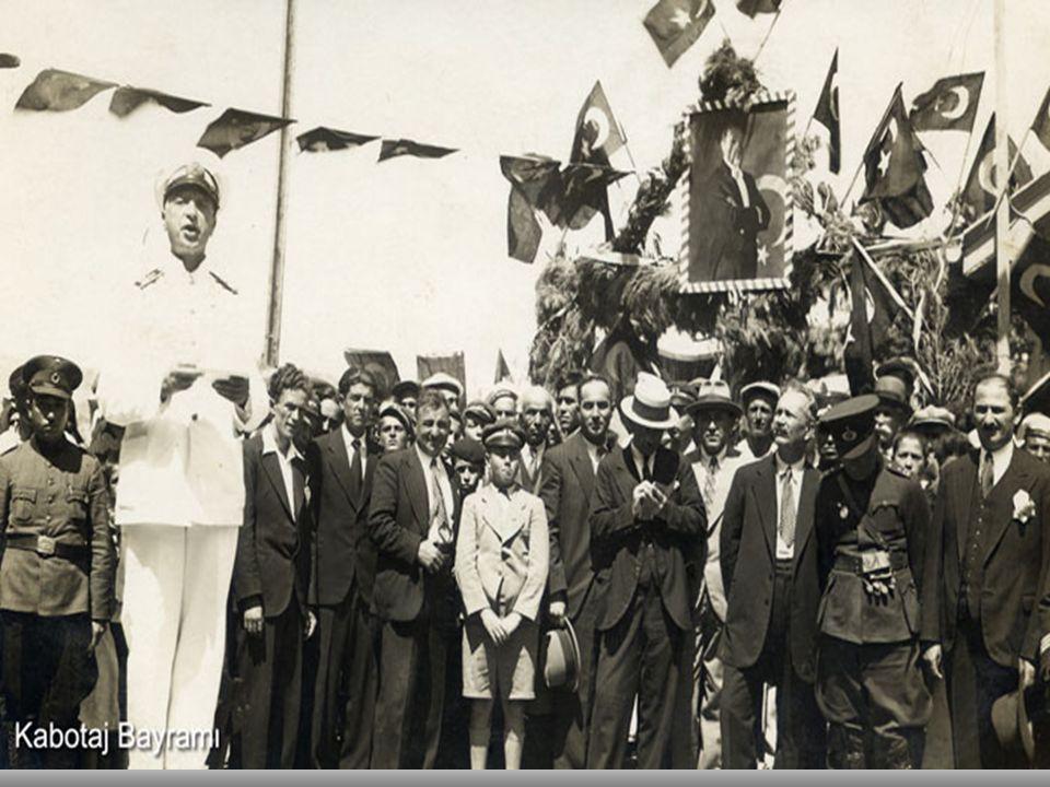 1 Temmuz Denizcilik ve Kabotaj bayramı kutlamalarından görüntüler.