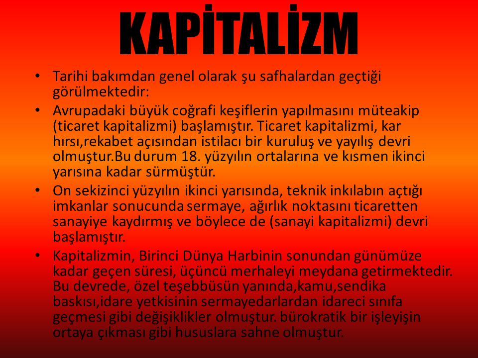 SOSYALİZM Sosyalizm; bireyciliğe, liberalizme karşı duyulan sosyal ve İktisadi tepkinin sistemleştirilmesinden doğan bir İktisadi görüş ve düşünüş tarzıdır.