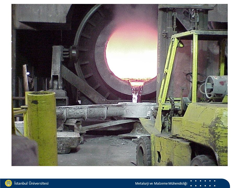 Materials and Chemistry İstanbul Üniversitesi Metalurji ve Malzeme Mühendisliği İstanbul Üniversitesi Metalurji ve Malzeme Mühendisliği İngot dökümü Pegasus video