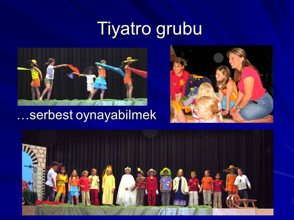 …serbest oynayabilmek Tiyatro grubu