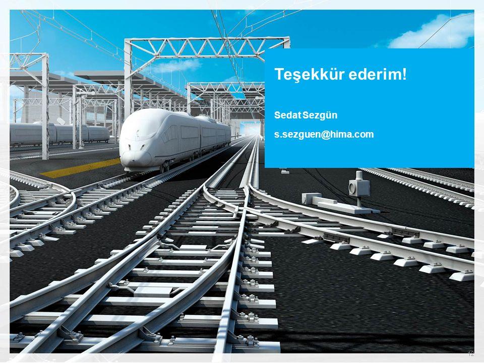 Demiryolunda HIMA Commershial off-the-shelf CENELEC SIL-4 sertifikalı PLC sistemleri Sinyalizasyon, hemzenin geçitler ve araç üstü uygulamalar. Müşter