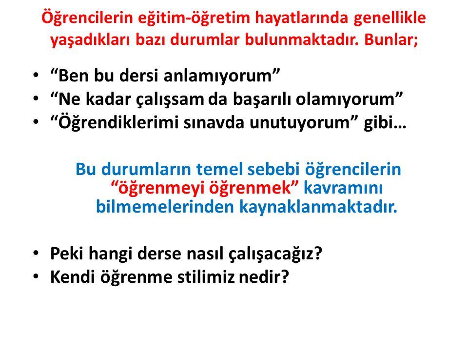 STRATEJİK ÖĞRENMEYİ BİLENLER NASIL DAVRANIR.1.