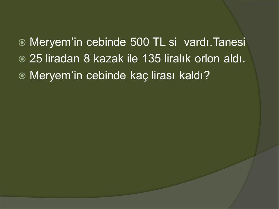  Tanesi 84 liradan 9 gömlek satan Bora kaç Tl alır?