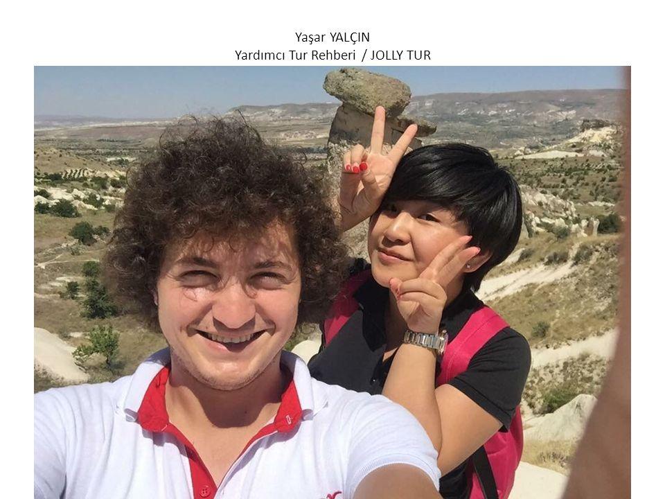 Kubilay AVCI Yardımcı Tur Rehberi / JOLLY TUR