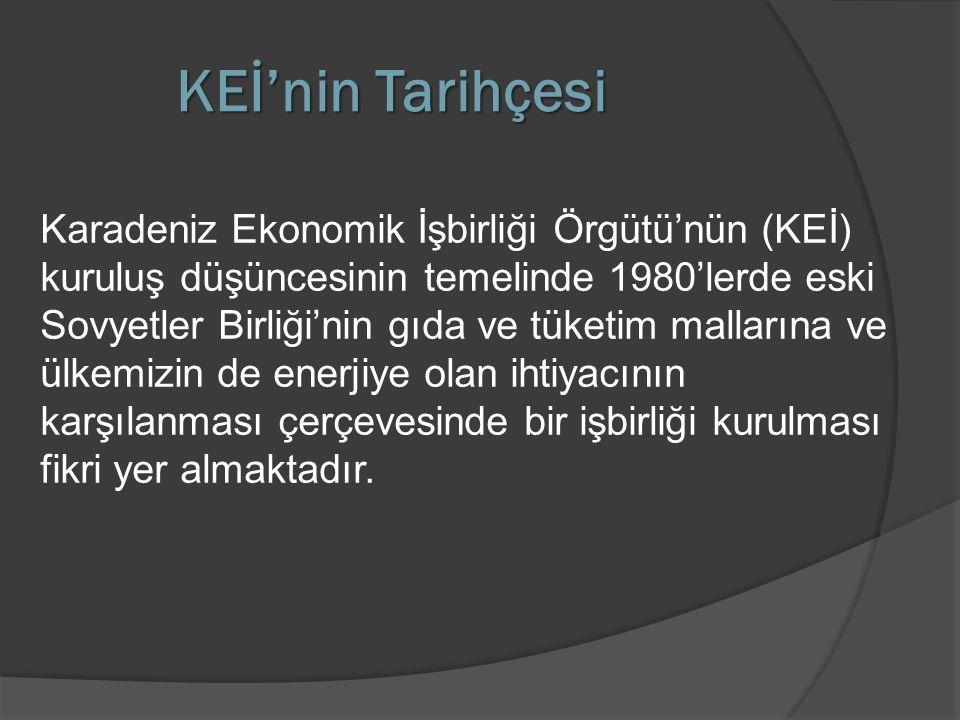  Türkiye'nin büyük ümitler bağladığı GAP Projesinin önemi, KEİB çerçevesinde daha da artmaktadır.
