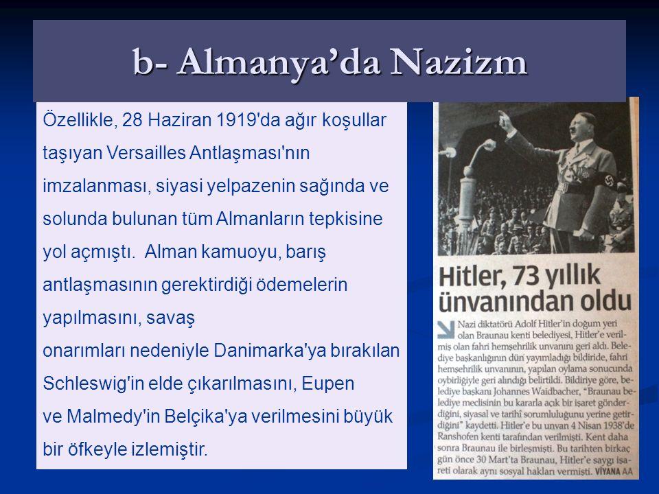 Mussolini'nin Anadolu'yu da içine alan bu yayılma politikası, Türk-İtalyan ilişkilerinde gerginlik yaratmıştır. Ancak, İtalya'daki faşist yönetim 1930