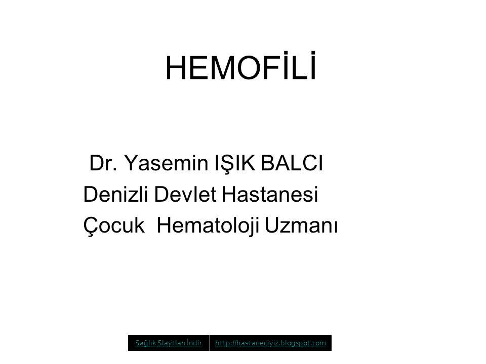 HEMOFİLİ Dr.