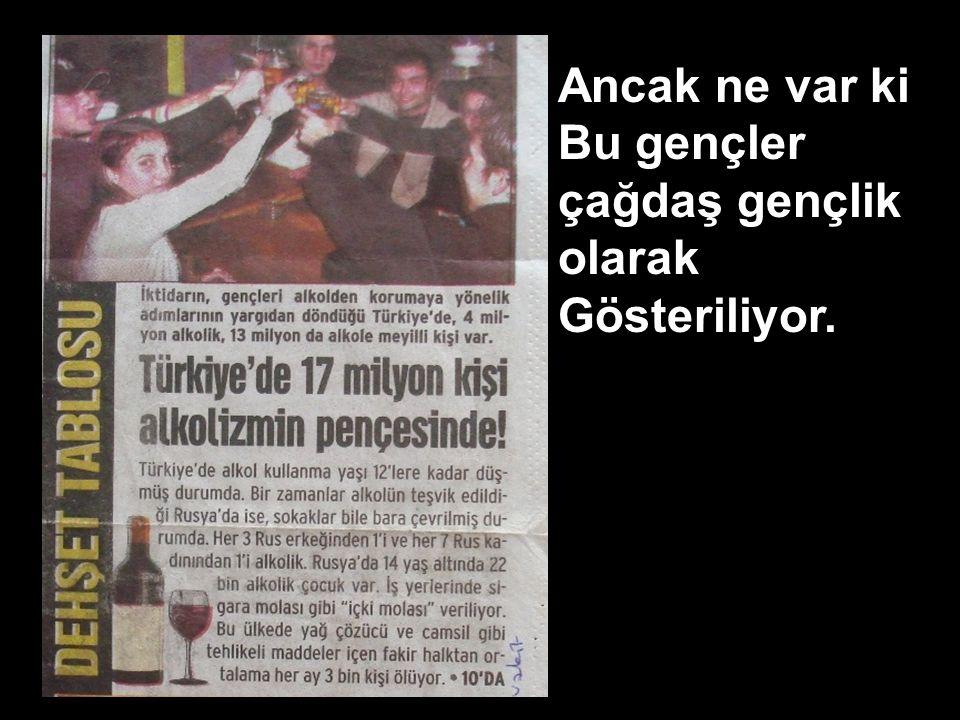 Türkiye'de 4 Milyon alkolik,13 Milyon da Alkole meyilli kişi var. 29