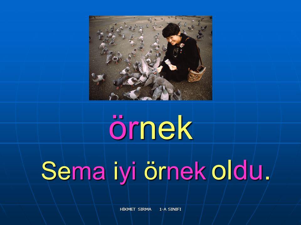 HİKMET SIRMA 1-A SINIFI ödül Tuna ödül aldı.
