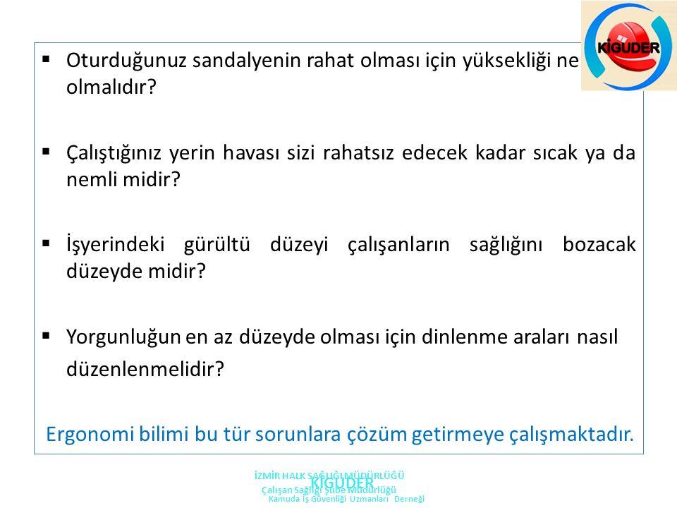 OFİS EGZERSİZLERİ KİGUDER Kamuda İş Güvenliği Uzmanları Derneği