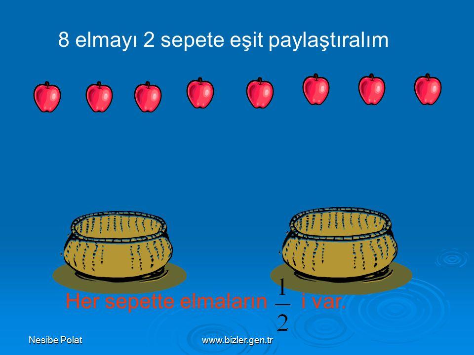 Nesibe Polatwww.bizler.gen.tr 2- 20 cm, 1 metrenin kaçta kaçıdır? 1 metre = 100 cm