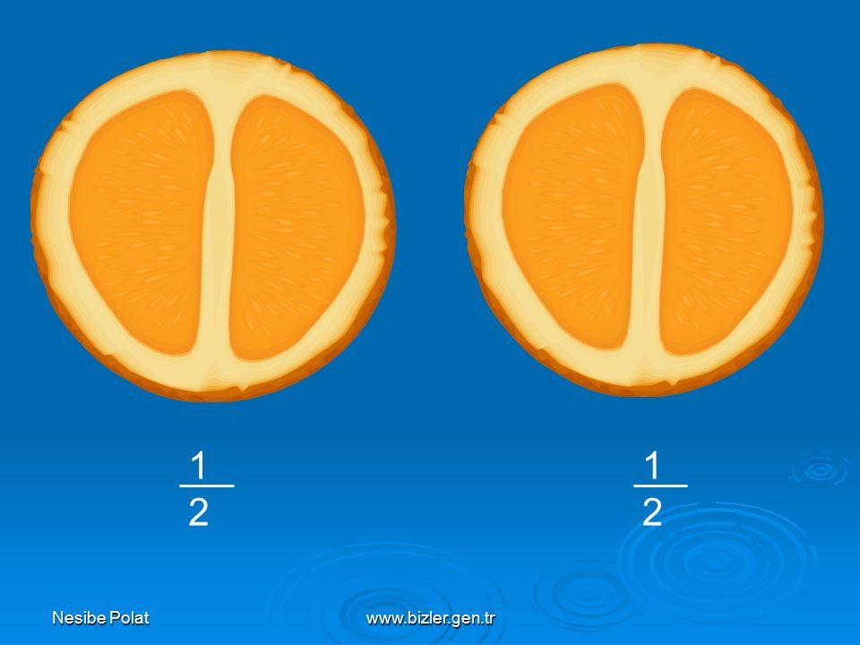Nesibe Polatwww.bizler.gen.tr l l l l l l l l l l l l 0 1 2 A B C Yukarıdaki sayı doğrusuna göre A, B ve C noktalarına karşılık gelen kesirleri yazınız.