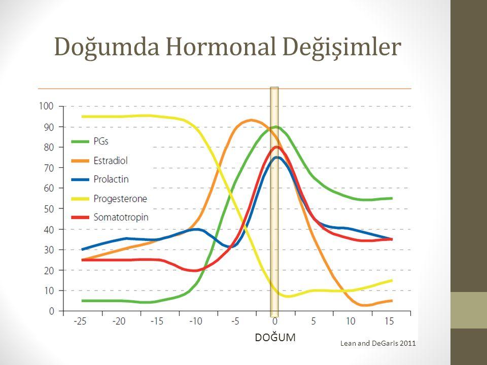 Doğumda Hormonal Değişimler DOĞUM Lean and DeGaris 2011