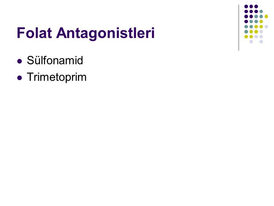 Folat Antagonistleri Sülfonamid Trimetoprim