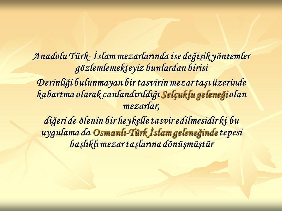 Osmanlı Mezar taşlarındaki başlıkların, kişilerin meslekleri yanında meşrepleri hakkında da bilgi vermesi, cemiyetteki hoşgörü ve inanca saygının bir ifadesiydi.