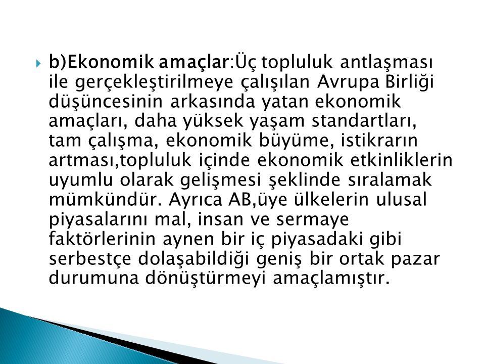  Üye ülkeleri çoğu ise Türkiye nüfusunun çoğunluğu Müslüman kesim olduğu için ve kendi üye devletlerin hepsi Hıristiyan kesim olduklarından Türkiye'yi Avrupa Birliğine alma sürecini ellerinden geldikçe zora sokma çabasındalar.