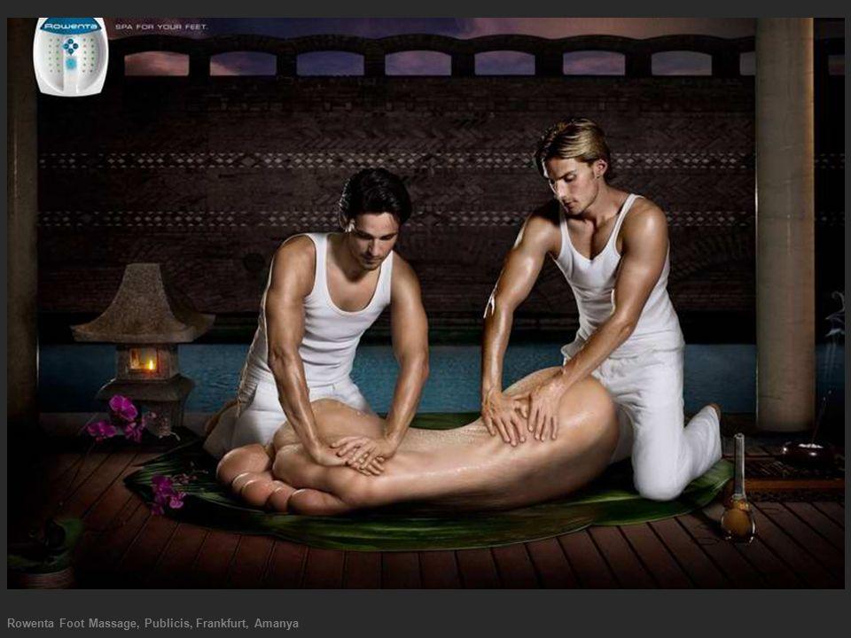 Rowenta Foot Massage, Publicis, Frankfurt, Amanya