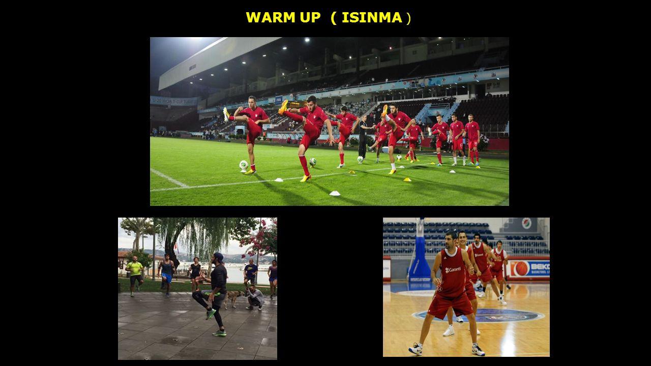 WARM UP ( ISINMA )