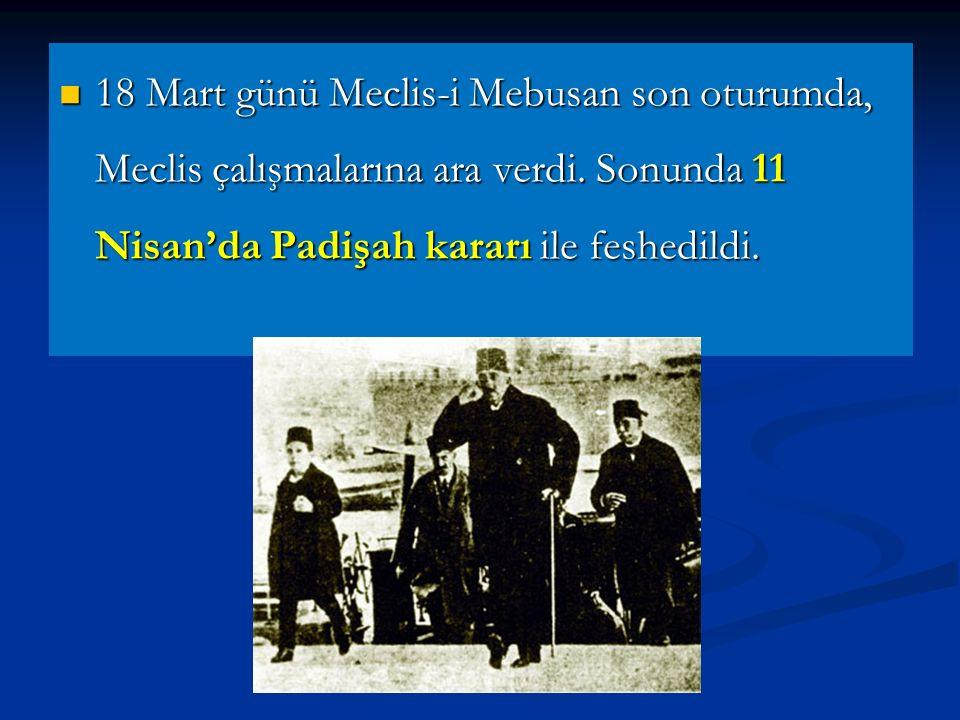 İstanbul'un işgali üzerine Mustafa Kemal işgali protesto etmiştir.