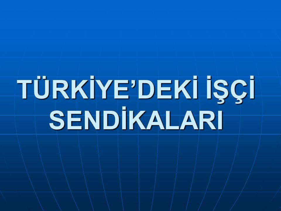 TÜRKİYE DEVRİMCİ İŞÇİ SENDİKALARI KONFEDERASYONU(DİSK) 13 Şubat 1967 tarihinde Türk-İş ten ayrılan Maden-İş, Lastik-İş, Basın-İş ve bağımsız Gıda-İş, Türk Maden- İş sendikaları ve onların genel başkanları olan Kemal Türkler, Rıza Kuas, İbrahim Güzelce, Mehmet Alpdündar ve Kemal Nebioğlu tarafından kurulan işçi sendikaları konfederasyonudur.