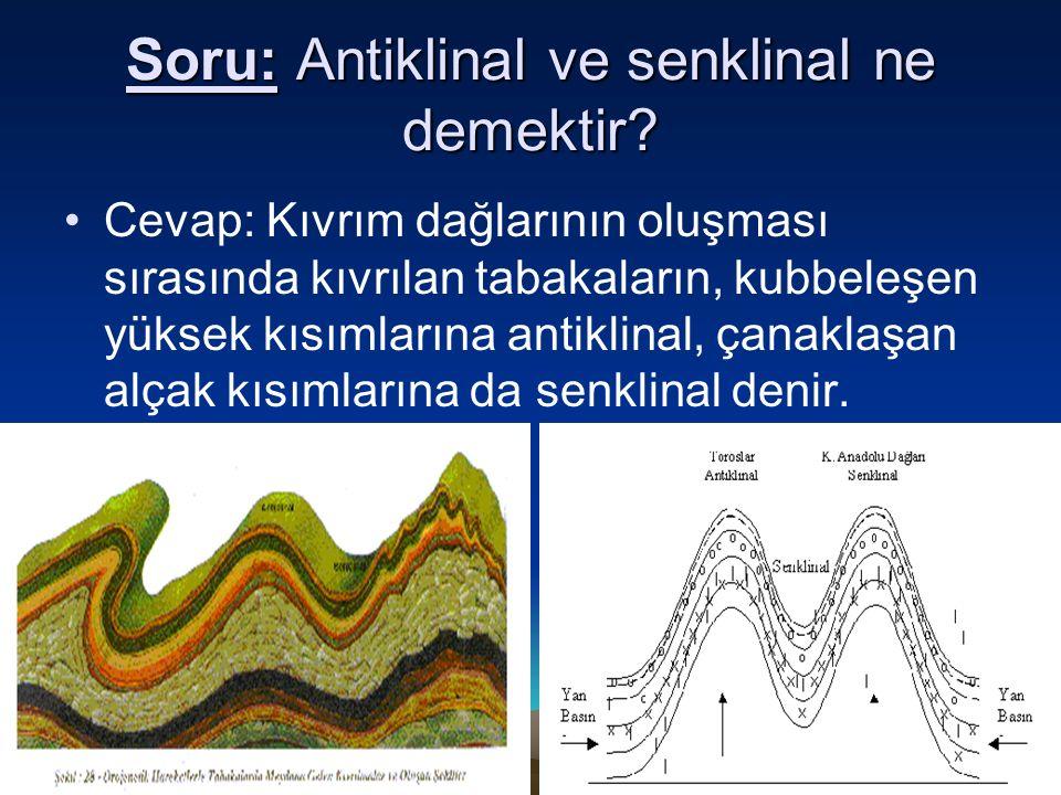 10 Şubat 2016 Çarşamba10 Şubat 2016 Çarşamba10 Şubat 2016 Çarşamba10 Şubat 2016 Çarşamba7 Soru: Antiklinal ve senklinal ne demektir? Cevap: Kıvrım dağ