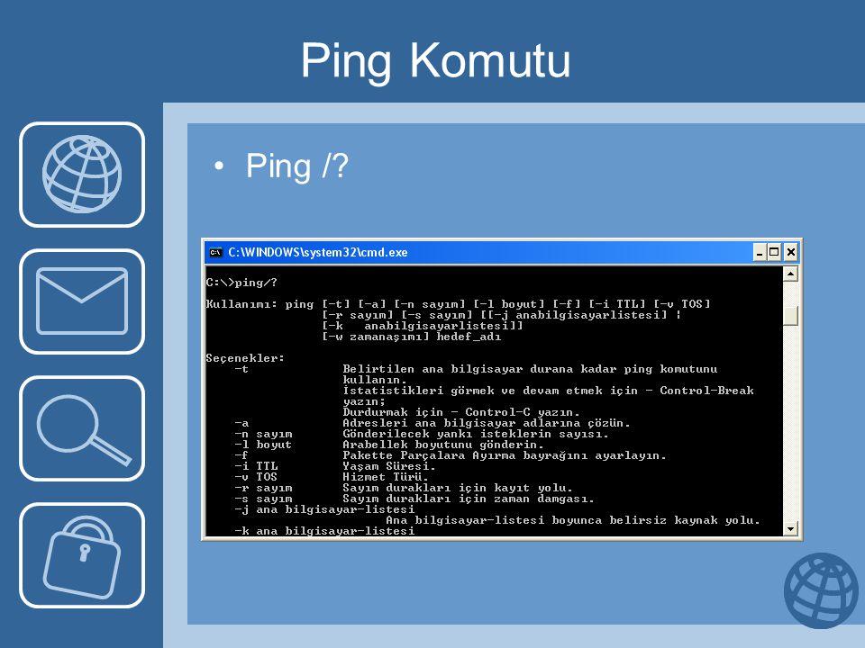 Ping Komutu Ping /?