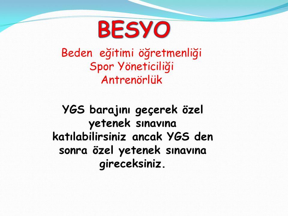 PMYO internet ön başvuruları: YGS sonuçlarının açıklanmasını takip eden Nisan 2014 nin son haftasında PMYO resmi internet sayfasından yapılacaktır. Ha