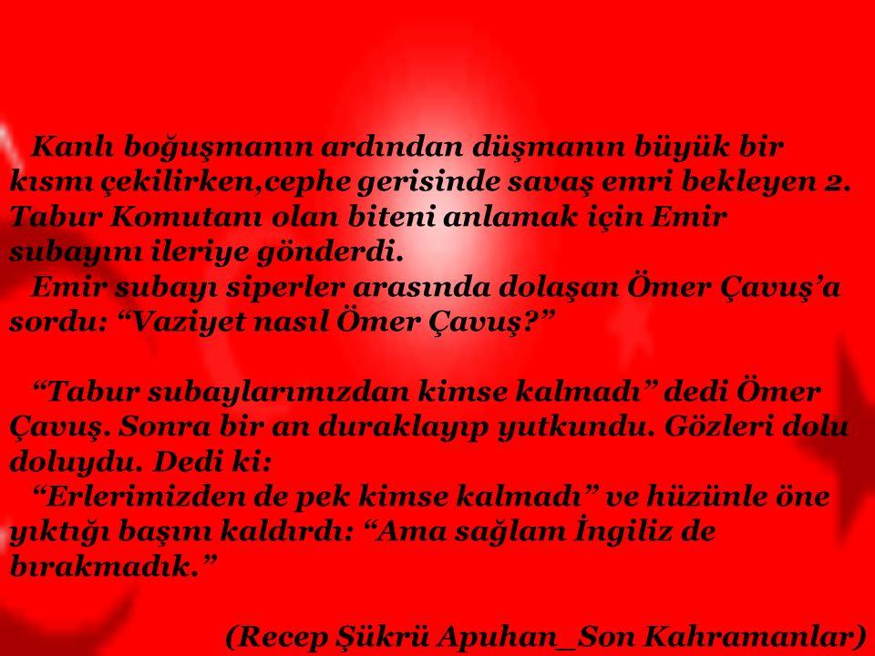 """Arıburnu kahraman, Conkbayırı Atatürk Nusret'te her bir mayın vallahi Müslüman- Türk! Kefenimin rengidir kükreyen her şelâle """"Ya Allah, ya Bismillâh!"""