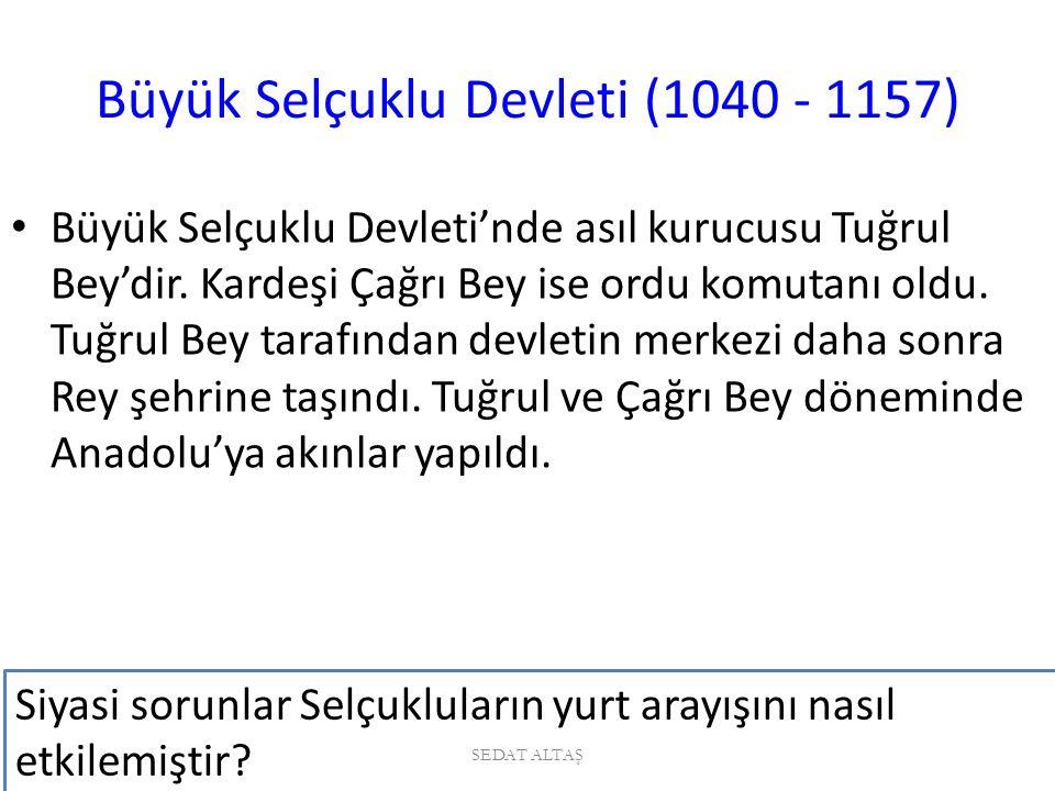 Bizans'ın Türk akınlarına son vermek istemesi.Bizans ordusu mağlup edilmiştir.