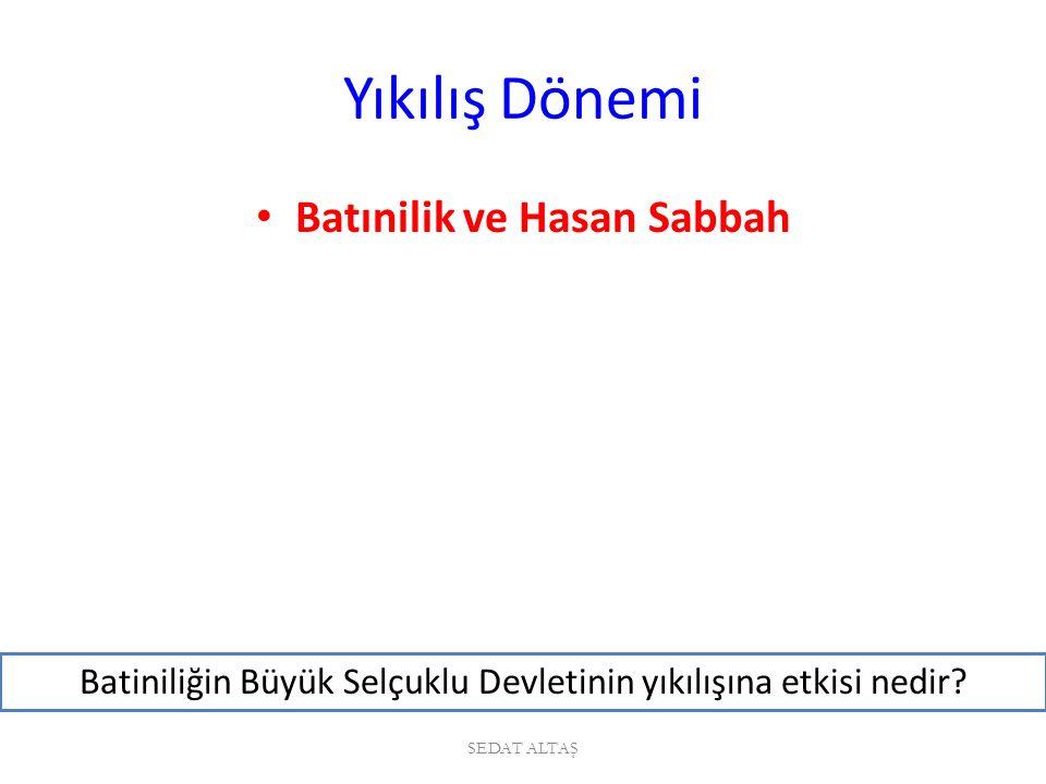 Yıkılış Dönemi Melikşah'ın ölümünden sonra devletin başına Sultan Sencer geçmiştir.