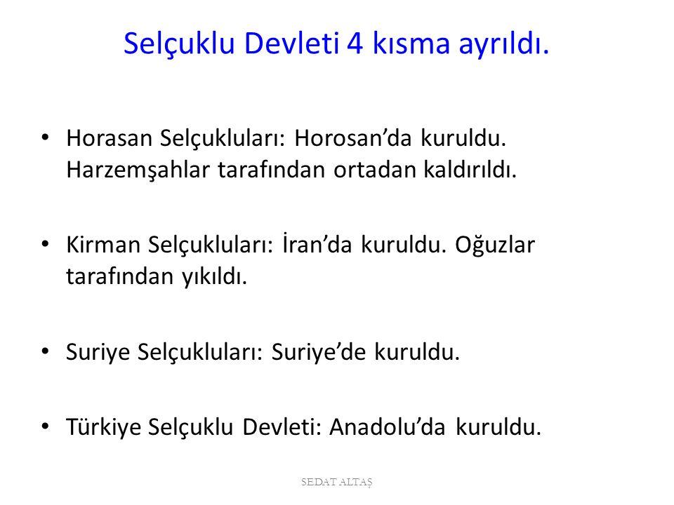 Türk geleneklerine göre bir bölgeyi ele geçiren komutana o bölgenin yönetimi verilirdi.
