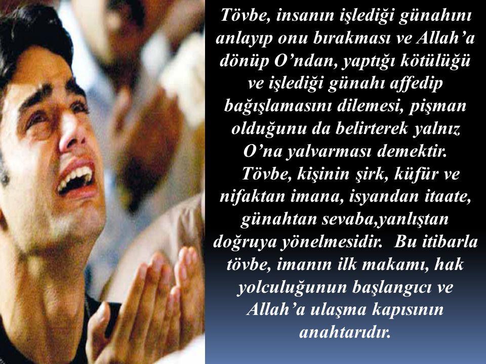b) Allah'ın haram kıldığı ve yasak ettiği bir şeyi yapmak.
