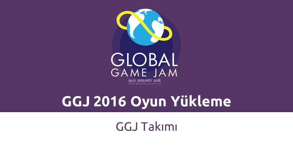 Bir GGJ kullanıcısı olmalısınız.Bir oyunu sisteme yüklemek için: 1.