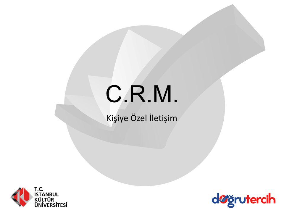 C.R.M. Kişiye Özel İletişim