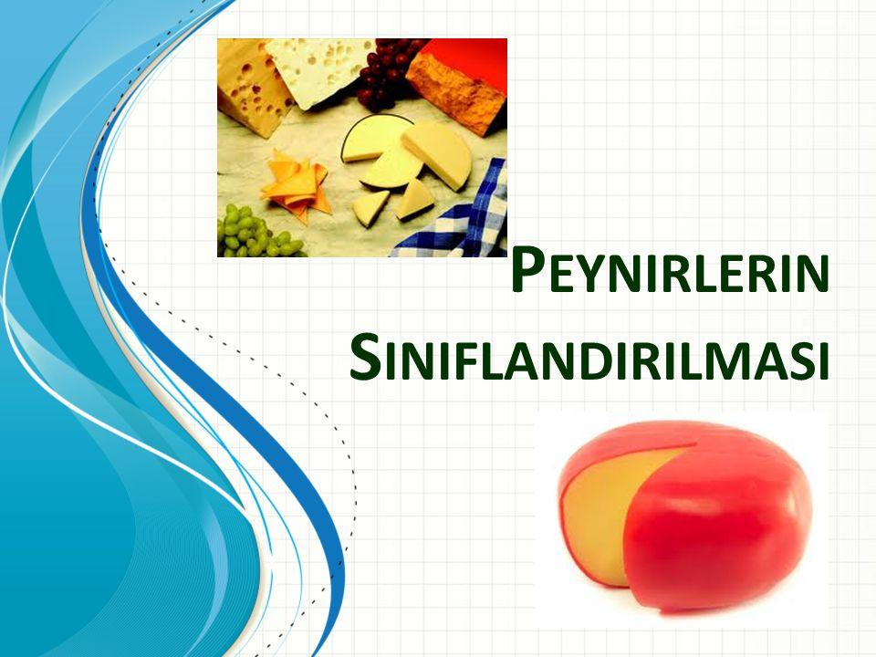 P EYNIRLERIN S INIFLANDIRILMASI